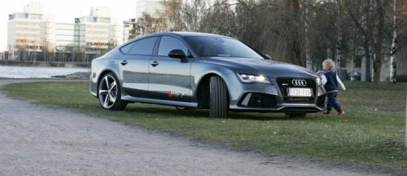 Ei arkajaloille-Audi RS7