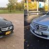 Parivertailussa Mercedes-Benz C 180 vm. 2014 ja vm.2008