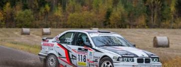 Sami Laurila nousi BMW-rallisarjan mestariksi