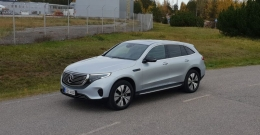 Mercedes-Benz EQC – Johtotähden hento varoitus