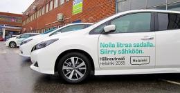 Helsinki uusii autokantaansa – kaupunki ottaa toukokuussa käyttöönsä 29 sähköautoa