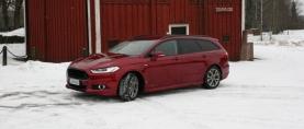 Koeajo Ford Mondeo AWD ST-Line – Loistava perhefarkku