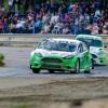 Rallicrossin SM-sarjan ensiesiintyminen Jalasjärven uudella radalla