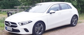 Koeajo Mercedes-Benz A180d – Uusi kotimainen