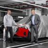 Audin täyssähköauto e-tronin valmistus alkoi