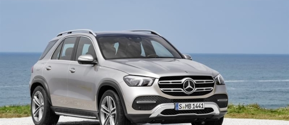 Mercedes-Benz GLE uudistuu