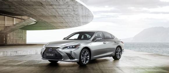 Lexus ES 300h hinnat alkavat 49 895,61 eurosta