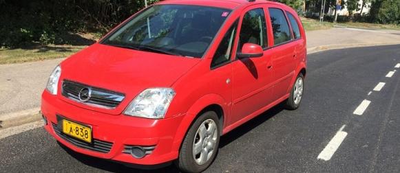 Koeajo käytetty Opel Meriva – Selvästi pienemmän tuntua