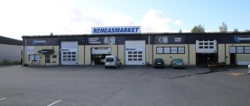 Rengasmarket Tiiriö sai uudet tilat ja lisää nostureita