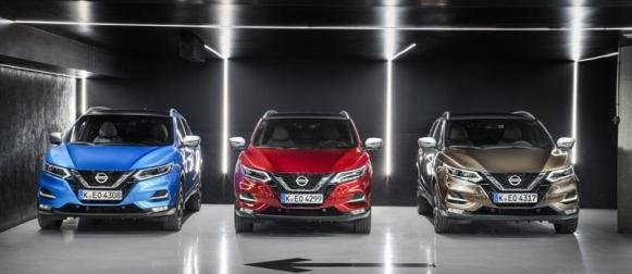 Nissan Qashqai sai uudet moottorit