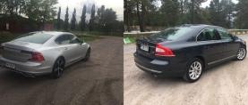 Edustus-Volvot S90 ja S80 vertailussa