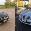 Parivertailussa Mercedes-Benz C 180 vm. 2014 ja vm.2008
