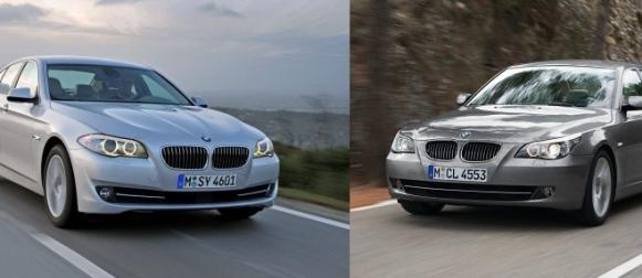 Sama vuosimalli, eri korimalli – BMW 5-sarja