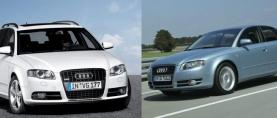 Sama vuosimalli, eri korimalli – Audi A4