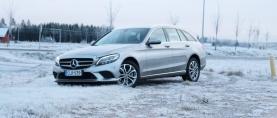 Koeajo Mercedes-Benz C220d – Yli puolet uutta