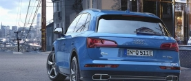 Audi Q5 on nyt tarjolla myös ladattavana hybridinä
