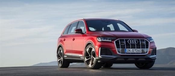 Audi Q7 uudistuu