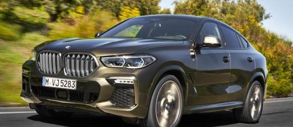 Uusi BMW X6 syksyllä markkinoille
