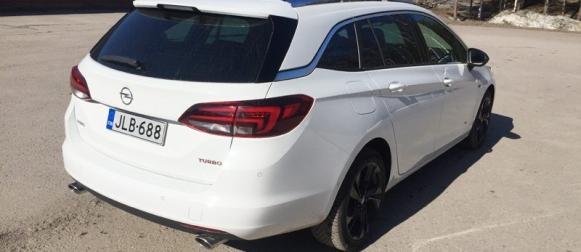 Koeajo Opel Astra – Keno-voittajan farmariturbo