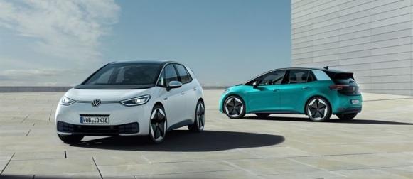 Volkswagen ID.3 sähköauton toimintamatka parhaimmillaan 550km