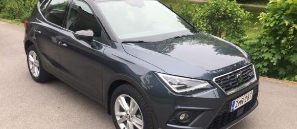 Seat Arona 1.0 TGI – Suomen ainoa kaasu-crossover