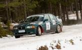 Jukka Alalantela avasi BMW-rallisarjan voitolla