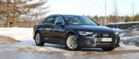 Koeajo Audi A6 – Selkeän tyylikäs