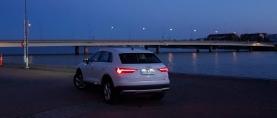 Koeajo Audi Q3 – Q3 kasvoi aikuiseksi