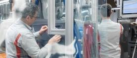 Audi uudelleenkäynnistää tuotannon asteittain Euroopassa