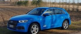 Koeajo Audi Q5 55TFSIe – Nopea ja taloudellinen