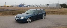 "Koeajo Saab 9-5 Aero – Oikea ""teräsleidi"""