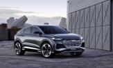 Audi Q4 Sportback e-tron markkinoille ensi vuonna