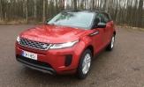 Koeajo Range Rover Evoque – Vanhaa vain ovien saranat