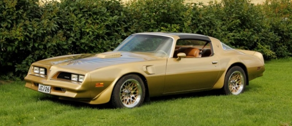 Goldenbird – Pontiac Trans AM 1978