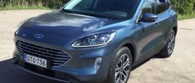 Koeajo Ford Kuga – Ladattava Kuga ylitti odotukset