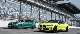 Uudet BMW M3 Sedan ja M4 Coupé saatavana myös nelivetoisena