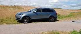 """Koeajo käytetty Audi Q7 – Ihan """"sipilänä"""" Q7:lla"""