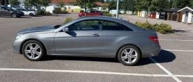 Koeajo käytetty Mercedes-Benz E-350CDI – Isojen tunteiden E Coupé