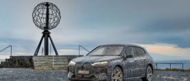 BMW iX -lippulaivamallin viimeiset talvitestit alkavat Lapissa