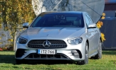 Koeajo Mercedes-Benz E300de – E niin kuin electric
