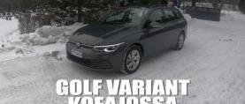 Koeajossa suomalaisten suosikki Volkswagen Golf Variant