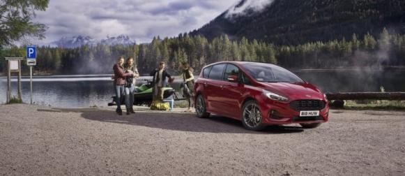 Ford S-Max nyt myös itselataavana hybridimallina
