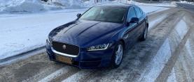 Koeajo käytetty Jaguar XE 2.0 diesel – Ihan tavallinen laatuauto