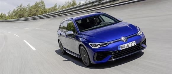 Uusi Volkswagen Golf R Variant syksyllä Suomeen