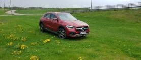 Koeajo Mercedes-Benz GLA 250e – Valinnan vaikeus