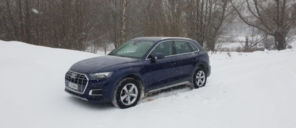 Koeajo Audi Q5 – Päivitetty painos