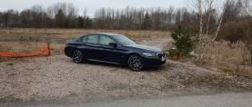 Koeajo BMW 545e – Täydellinen perheauto?