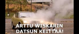 Arttu Wiskarin Datsun alkoi keittämään haastattelussa