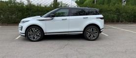 Range Rover Evoque P300eAWD – Tyylitietoisen pistokemaasturi
