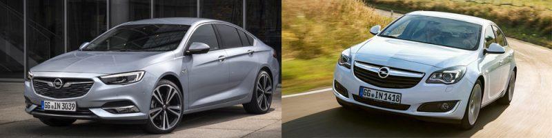 Opel Insignia muuttui radikaalisti 2017